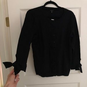 NWT Talbots black button down cardigan